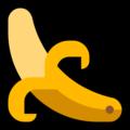 Эмодзи 🍌 Банан на Windows 10 Fall Creators Update