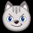Эмодзи 😼 Кошачье лицо с ухмылкой на Samsung