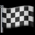 Эмодзи 🏁 Гоночный флаг на Apple iOS