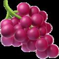 Эмодзи 🍇 Виноград на Apple iOS