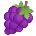 Эмодзи 🍇 Виноград на Google Android