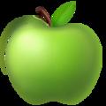 Эмодзи 🍏 Зеленое яблоко на Apple iOS