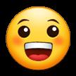Эмодзи 😀 Ухмыляющееся лицо на Samsung