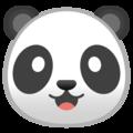 Эмодзи 🐼 Панда на Google Android