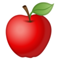 Эмодзи 🍎 Красное яблоко на Google Android