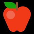 Эмодзи 🍎 Красное яблоко на Windows 10 Fall Creators Update