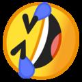 Эмодзи 🤣 Катаюсь по полу от смеха на Google Android