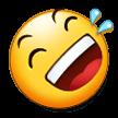 Эмодзи 🤣 Катаюсь по полу от смеха на Samsung