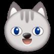Эмодзи 😺 Улыбка кота на Samsung