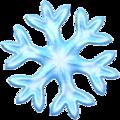 Эмодзи ❄️ Снежинка на Apple iOS