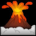 Эмодзи 🌋 Вулкан на Google Android