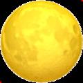 Эмодзи 🌕 Полная луна на Apple iOS