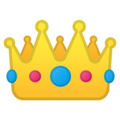 Эмодзи 👑 Корона на Google Android