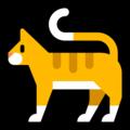 Эмодзи 🐈 Кот (кошка) на Windows 10 Fall Creators Update