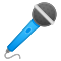 Эмодзи 🎤 Микрофон (караоке) на Google Android
