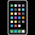 Эмодзи 📱 Мобильный телефон на Apple iOS