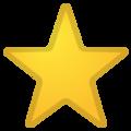 Эмодзи ⭐ Звезда на Google Android