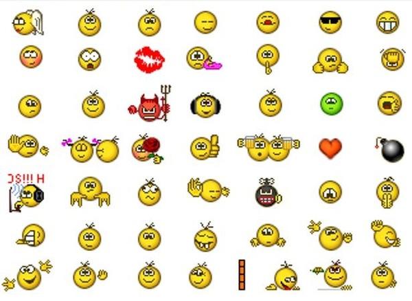 ICQ смайлики