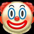 Эмодзи 🤡 Клоун на Apple iOS