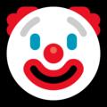 Эмодзи 🤡 Клоун на Windows 10 Fall Creators Update
