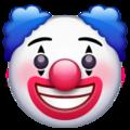 Эмодзи 🤡 Клоун в месседжере WhatsApp
