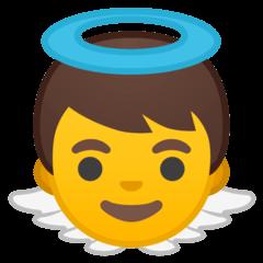 Эмодзи 👼 Ангелочек на Google Android