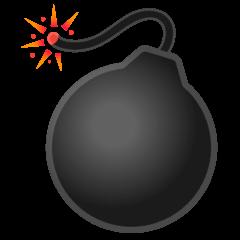 Эмодзи 💣 Бомба на Google Android
