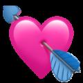 Эмодзи 💘 Сердце со стрелой на Apple iOS