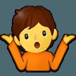 Эмодзи 🤷 Разведение руками или Пожимающий плечами на Samsung
